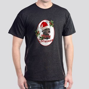 Labradoodle Christmas Dark T-Shirt