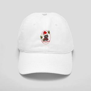 Labradoodle Christmas Cap