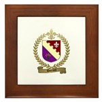 DURAND Family Crest Framed Tile