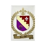 DURAND Family Crest Rectangle Magnet (100 pack)