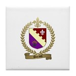 DURAND Family Crest Tile Coaster