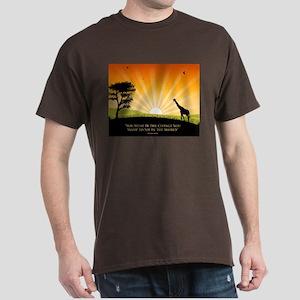 Ghandi Dark T-Shirt