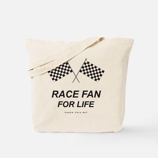 Checker Flag Race Life Tote Bag