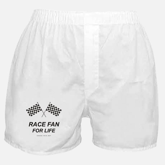 Checker Flag Race Life Boxer Shorts