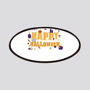Happy Halloween Colorful Patch