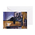 209 - Cat Tt Greeting Cards