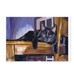 209 - Cat Tt Postcards (package Of 8)