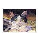 210 - Cat Aj Postcards (package Of 8)