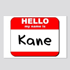 Hello my name is Kane Postcards (Package of 8)