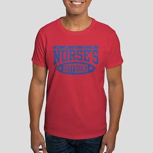 Proud Nurse's Boyfriend Dark T-Shirt