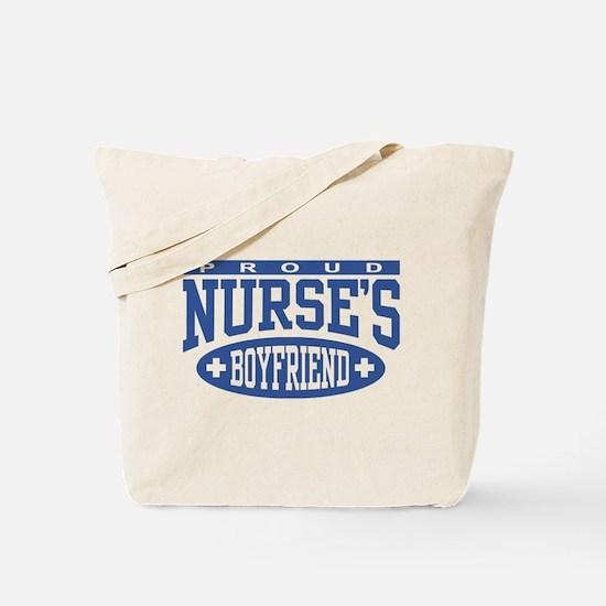Proud Nurse's Boyfriend Tote Bag