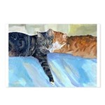 211 - Cats Whisk & Postcards (package Of 8)
