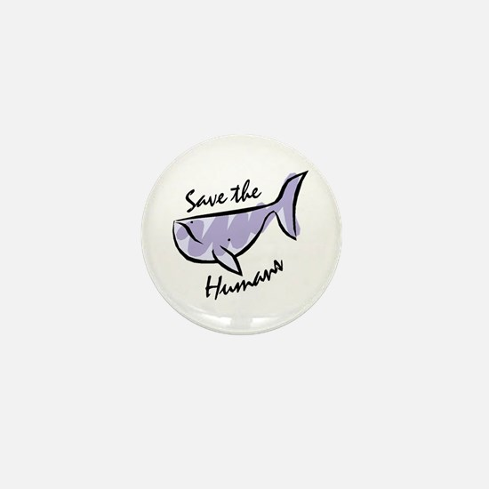 Save the Humans<br>Mini Button