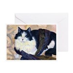212- Cat Tillie Greeting Cards
