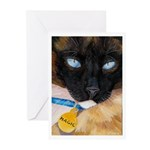 217 - Cat Magic Greeting Cards