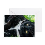 219 - Cat Domino Greeting Cards
