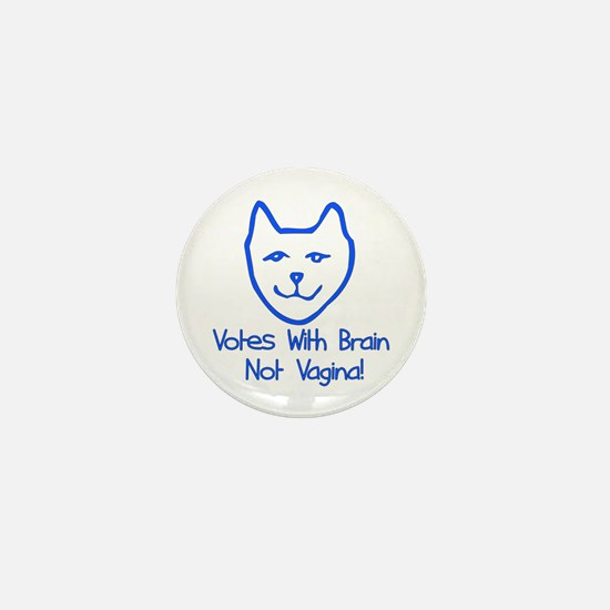 Anti-Palin Voter Mini Button