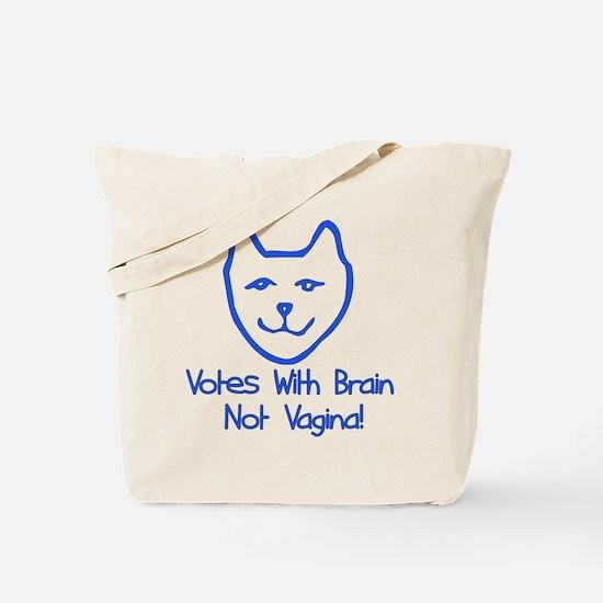 Anti-Palin Voter Tote Bag