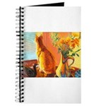 223 - Cat Sammy Sunset Journal