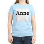 Anne - Personalized Women's Pink T-Shirt