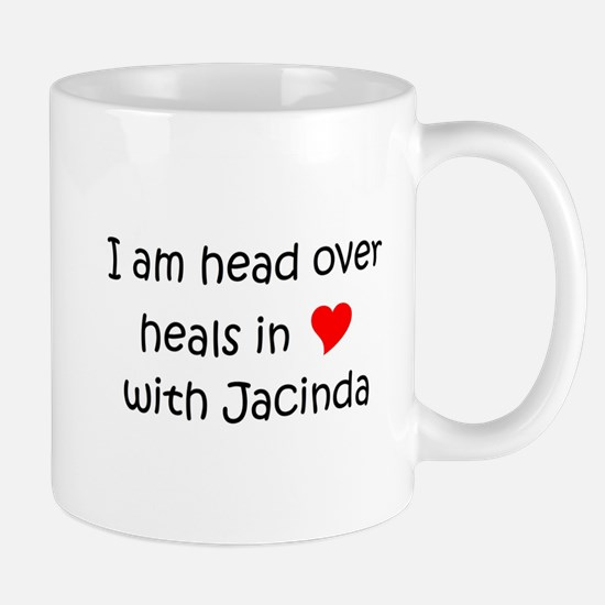 Unique I (heart) jacinda Mug