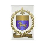 DUQUET Family Crest Rectangle Magnet (100 pack)