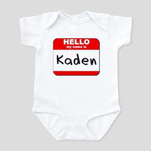 Hello my name is Kaden Infant Bodysuit