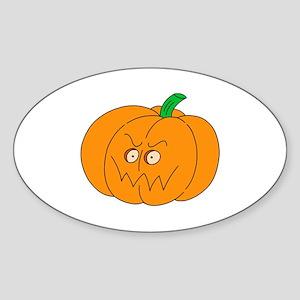 Pumpkinhead Oval Sticker