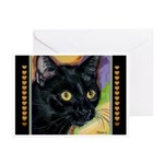 232 - Cat Brock Close-Up Greeting Cards