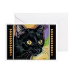 232 - Cat Brock Close-Up Greeting Cards