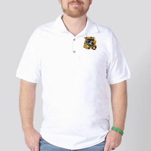Scrapbook Beagle Halloween Golf Shirt