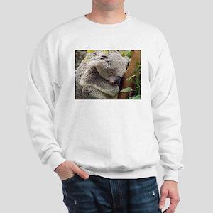 Sleeping Koala Bear Sweatshirt