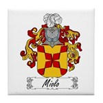 Miolo Family Crest Tile Coaster