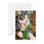 234 - Cat Victoria Little Greeting Cards