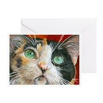 236 - Cat Maya Greeting Cards