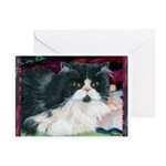 237 - Cat Winky Greeting Cards
