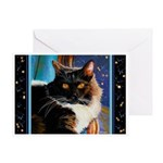238 - Cat Mr. Boots Greeting Cards