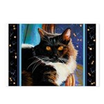 238 - Cat Mr. Boots Postcards (package Of 8)