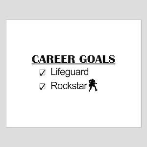 Lifeguard Career Goals - Rockstar Small Poster