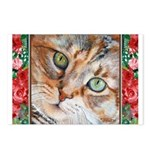 242 - Cat Piglet Postcards (package Of 8)