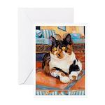 244 - Cat Jaxy Greeting Cards