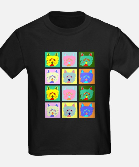 Colorful West Highland Terrier T