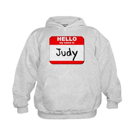 Hello my name is Judy Kids Hoodie