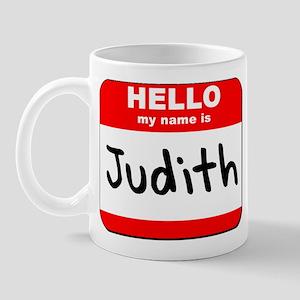 Hello my name is Judith Mug