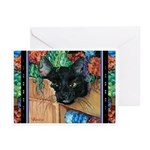 248 - Cat Sylvie Greeting Cards