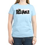 Reliable Women's Pink T-Shirt