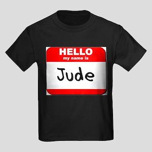 Hello my name is Jude Kids Dark T-Shirt