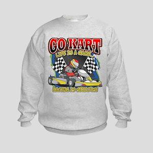 Go Kart Life Kids Sweatshirt