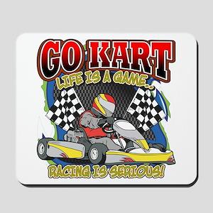 Go Kart Life Mousepad