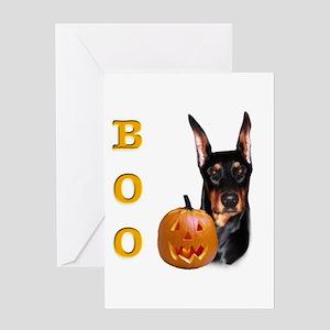 Dobie Boo Greeting Card
